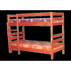"""Кровать деревянная """"Икея"""" двухъярусная из массива дерева"""