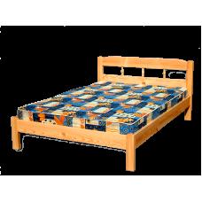"""Кровать  """"Дачная"""" из дерева"""