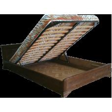 """Кровать из массива дерева с подъемным механизмом """"Классика"""""""