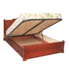 """Кровать  """"Афродита"""" с подъемным механизмом из массива дерева"""