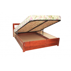 """Кровать """"Икея"""" с подъемным механизмом из массива дерева"""
