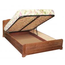 """Кровать из массива с подъемным механизмом """"Сатория"""""""
