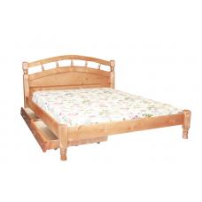"""Кровать из массива """"Джулия""""  с ящиками"""