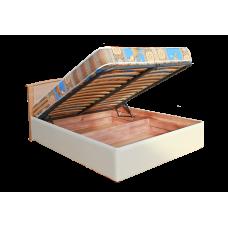 """Кровать """"Нова"""" с подъемным механизмом из массива дерева"""