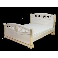 """Кровать из массива """"Сиена"""""""