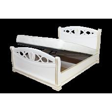 """Кровать """"Сиена"""" из массива с подъемным механизмом"""