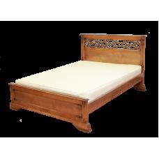 """Кровать  """"Вирджиния""""  из массива дерева"""
