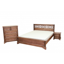 """Комплект для спальни """"Вирджиния"""" Кровать,тумба,Комод"""