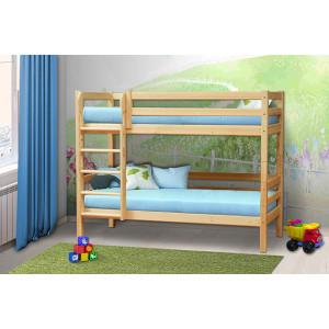Кровать детская деревянная  двухъярусная 3