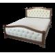 """Кровать деревянная """"Соната"""" с мягкой вставкой"""
