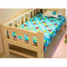 """Кровать детская """"Лика-3"""" из дерева"""