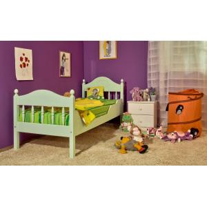 """Кровать детская """"Алиса"""" из массива дерева"""