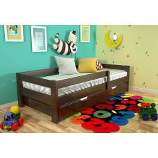 """Кровать детская """"Малютка-3"""" из массива"""