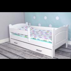 """Кровать детская """"Мишка"""" из массива"""