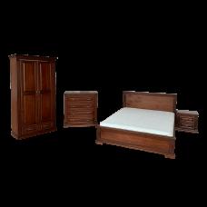 """Комплект мебели  """"Фореста"""" Кровать, тумба, комод, шкаф"""